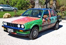 The BMW 320i Art Car