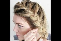 coiffure simple