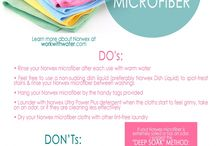 Norwex Tips and Tricks / No chemical cleaning that actually works!