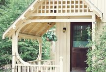"""Decor: Porches to Perch On / """"We need more front porches...."""" / by Pat Gunder"""