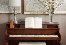 Home Ideas - Piano room