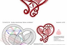 klöppeln macrame crochet lace
