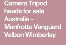 Tripod Heads / http://www.tripodworld.com.au/tripod-heads #TripodHeads #ManfrottoTripodHead #WimberleyTripodHead #VelbonTripodhead #VanguardTripodHead http://www.camerasdirect.com.au/tripods-monopods/tripod-heads