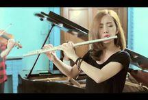 Flute, Violin + Piano <3