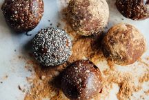 date balls and raw snacks