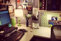 Cubicle inspiration / by Mandy Millam