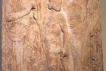 Bas relief grec.