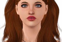 Sims 3 Peinados
