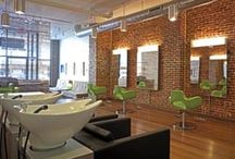 Funky salon ideas