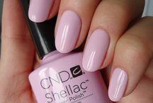 CND Shellac Nails / CND Shellac Nail Colours, Lecente Glitters, Art! ❤️