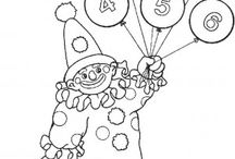 Circus coloring book / Circus coloring pages