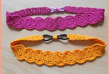 crochet headbands and hats