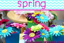 Spring / Dramatic play, sensory, art, and activity ideas for pre-k or kindergarten.