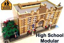Modular buildings / Lego