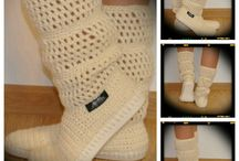 Simply Uki / http://en.dawanda.com/product/61506863-Crochet-boots-summer-boots-woman-for-street