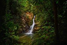 "Tourism Spot "" Sadot Waterfall"" Aceh jaya-Indonesia"