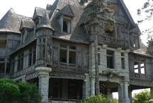 Abandoned: Castles, Chateaus, Palaces, Villas /  Castles, Chateaus, Palaces that have been ababdoned / by Candie Vaughan