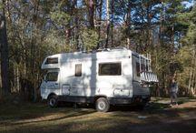 Camper Van / Pictures of our camper van
