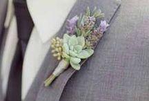 Lilac + Grey Wedding