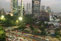 Mexico City / Av. Chapultepec at Mexico City