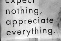 Sayings and more.