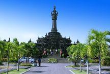 Denpasar / The capital city of Bali and major getaway to Bali