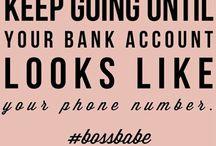 #BOSSBABE / Girl power motivation