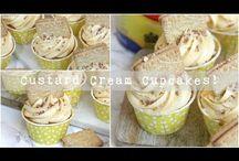 Custard cream muffins