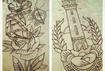 Nautical Tattoos / by Frieda Masters