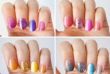 Nail art colors