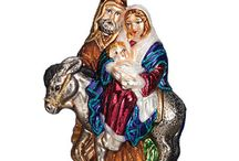 Bible Story Ornaments / Ornaments depicted beloved Bible stories and faith.   http://www.trendyornaments.com