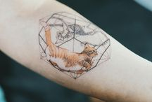 Cat tatoos