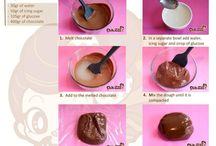 sjokolade fondant