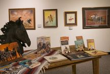 Horsin' Around: Out of the Vault / Aug. 22 - Dec. 22, 2016: Exhibit curated from rare, one-of-a-kind artwork in the Garis Gallery of the American West vault. Many of these have never been on public display and many have not been seen by the public in over a decade or longer. Artists have long held a fascination for horses. This exhibit features the work of such Native American greats as Donald Vann, Will Sampson and Doc Tate Nevaquaya, to other famous artists like Frank Tenney Johnson, Clark Hulings, Howard Terpning.
