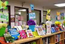 for the library / Ideas for elementary library decor, displays, lesson plans and creative ideas to make the library a place kids want to be.  / by Maria LaBarbera