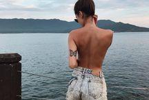Fjärilar tattoo