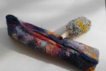 ペンケース felted wool pencil case