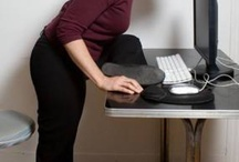 Stretchhhh! / Workplace exercises / by Tragic Sandwich