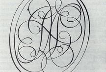 Kalligrafie / Letter O