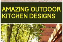 Outdoor Areas- bbq, pool, fires etc