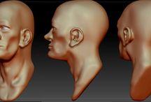 My Zbrush Work / Character / Zbrushda yaptığım modellemeler, çalışmalar