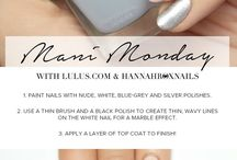 Nails, nails, nails / Nail art inspiration and nail posts from my beauty blog.