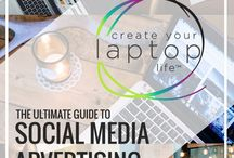 Work From Home Mom Tips: Social Media Marketing / The best tips and tricks for moms who are looking to start freelancing from home. Social Media Strategy tips for Facebook, Instagram, Twitter, Linkedin and more!