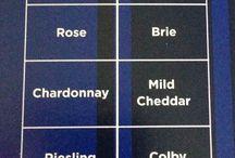 viinit / juustot