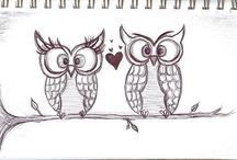 Owls  / by Adrienn Rimár