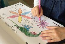 La Mer - Cahier de Dessin Animé / Découvrez le Cahier de Dessin Animé - La Mer !  #CahierAnimé #coloriages #creativetech