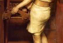Alma-Tadema, Lawrence (1836-1912, Dutch painter)