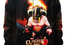 Jaket Clash of Clans