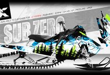 Sled/ATV Wrap Inspiration / Inspiration for designing custom wraps