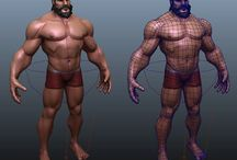 Male characters (3D)